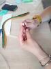 Zakręcone tulipany - warsztaty z quillingu_11
