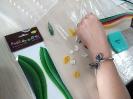 Zakręcone tulipany - warsztaty z quillingu_19